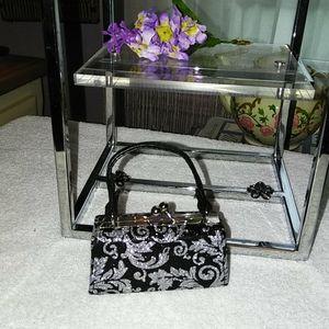 Miniature metallic purse